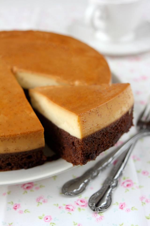 Flan Chocolate Cake Savoury Days