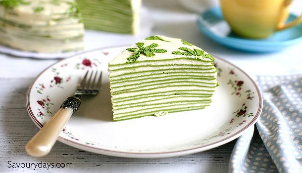 Bánh sinh nhật vị trà xanh
